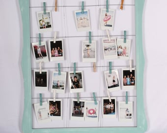 Polaroid picture display