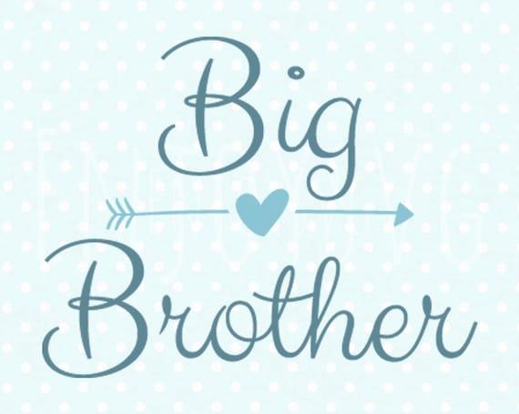 Download Big Brother SVG Cutting File SVG File CAMEO Svg Cut Svg Big