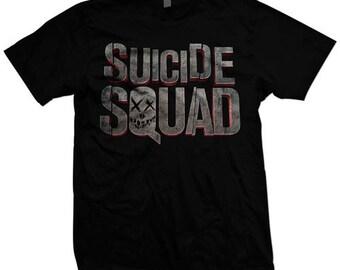 Suicide Squad premium poly-blend tee.