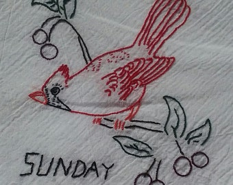 Bird Tea Towels