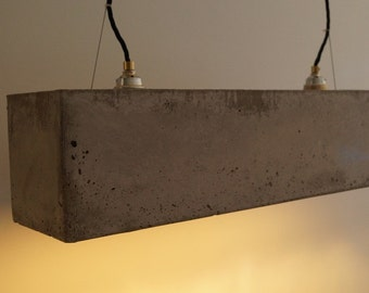 Concrete pendant lamp | Concrete lamp