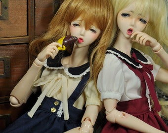 CODENOiR -  Sailor Dress BJD clothes msd / Slimi msd / mdd / angel philia / 1/4 BJD