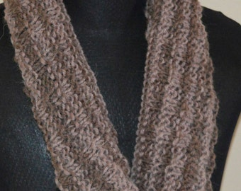 Shades of brown cowl