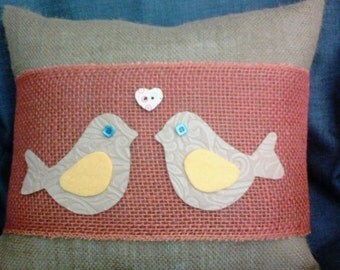 Bird Pillow Wraps