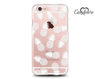iPhone 7 case, iPhone 6 Plus case, iPhone 7 Plus case, iPhone 6 case, Clear case, Clear Rubber, S8 Plus case, Galaxy S8 case, Pineapples