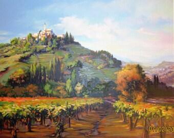 Vintage Jennie Tomao - Wine Country, S/N 239/295