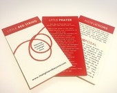 Blessed Little Red String Bracelet - 3 quantity