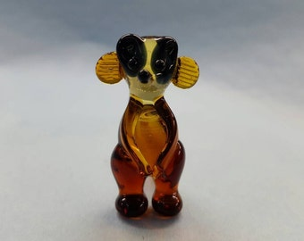 Meerkat Glass Figurine