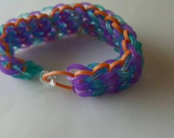 Mermaid coloured bracelet
