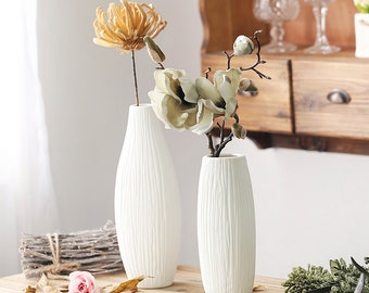 Minimalist Ceramic Vase Home Decoration Flower Vase