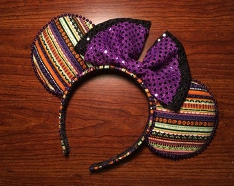Handmade Halloween inspired mouse ears