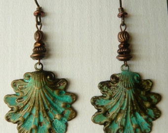 Brass shells with NICKEL FREE ear wires