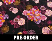 PRE-ORDER Large Knitting Needle Case - 30 black pockets for straights, circulars and dpns plus accessories