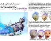 E- PATTERN- VIOLA, Beautiful Mermaid