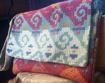 Boho wallet Wristlet/Wallet/Carry all/Phone wallet Guatemalan fabric weave Wristlet earthy Quality