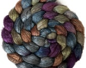 Handpainted Yak Silk Roving - 4 oz. SOCHI - Spinning Fiber