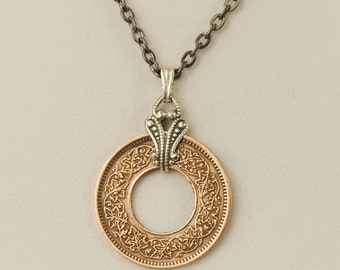 British India Coin Necklace 1947 Pice