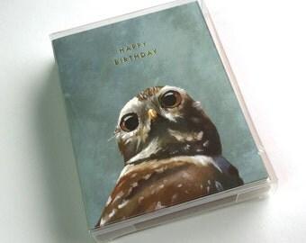 Bird Birthday Mixed Set of 12 Cards - Birds - Animal - Nature - Mincing Mockingbird