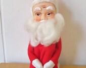 XMAS in JULY SALE large vintage Santa knee hugger elf