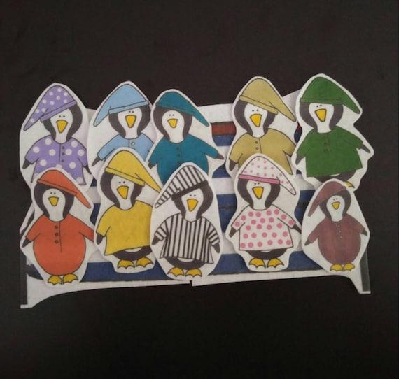 Ten in a Bed Flannel Board Felt Story