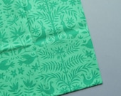 Otomi - Folklore by Lily Ashbury for Moda - Peacock Green - Fat Quarter - Destash Cotton Fabric