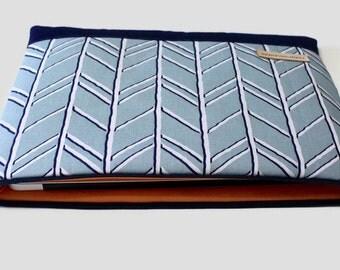 "Women's Laptop Sleeve Case, Dell XPS 13 Case, MacBook Sleeve, 11""-15"" Chromebook Case Cover - Bogatell Spa Blue"