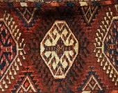 Custom for Colli12 Antique persian rug pillow