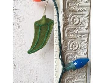 Okra Ornament