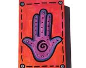 Purple Hamsa Painting - H...