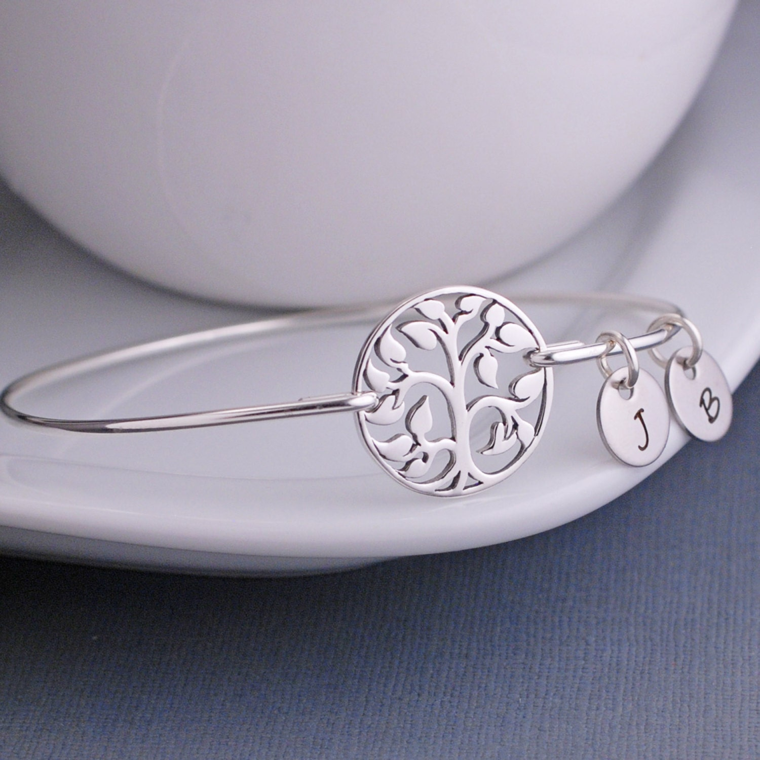 Tree Of Life Bracelet Family Tree Jewelry Sterling Silver