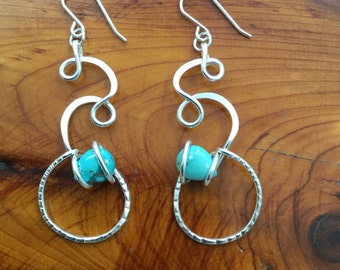Turquoise Tides Earrings