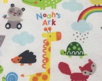 NEW-Flannel-NOAH'S ARK-Blanket Sleeper Sleep Sack-12-24 M-Custom-Handmade