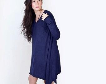 Dress • Long Sleeve • Women • Loose Oversized Box • Mini Dress • Loft 415 Clothing (No. 748)