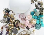 DIY Jeweled Hand Mirror Kit - Romantic Rustic