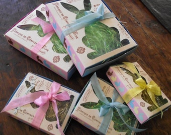 Set of 3 small Easter boxes