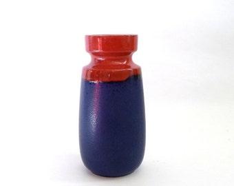 SUMMER SALE Modernist West German Pottery Vase Scheurich 210 18