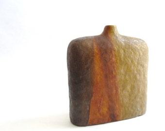SUMMER SALE Modern Fantoni Lava Glaze Shoulder Vase