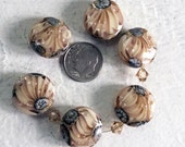 handmade lampwork glass beads destash