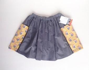 Fox pocket skirt size 4-5