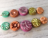 Dragonfly Coin Bead Set