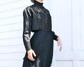 Victorian Black Blouse XS/S