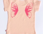 Organic S/S Pink Fairy T Shirt - 6 months to 12 years