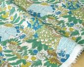 Japanese Fabric Enchanted Garden - cotton lawn - B - 50cm