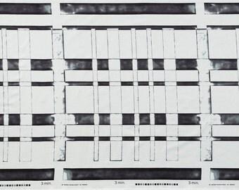 Japanese Fabric Kokka 3 min. - morning - charcoal - 50cm