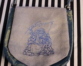 Pouch Spare Pocket Embroidery Zeus