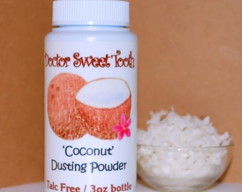 Creamy Coconut Dusting Powder 3oz (Talc Free)