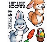 Some Odd Girl Clear Cling Rubber Stamp Set -Hip Hop Hooray
