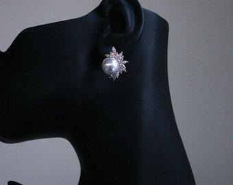 50% OFF SALE Bridal Earrings Wedding Earrings Pearl Earrings Art Deco Earrings Bridesmaid Jewelry,