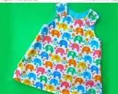 30% OFF Reversible Baby Dress Pattern PDF - The Perfect A Line Dress Pattern for Baby and Toddler