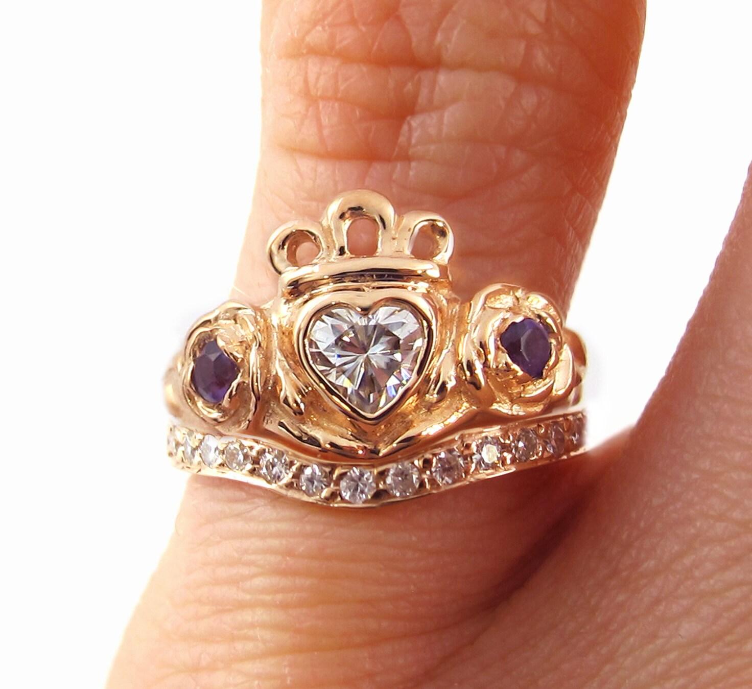 Beautiful Irish Wedding Ring Finger Wedding